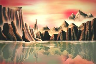 Mars Landschap