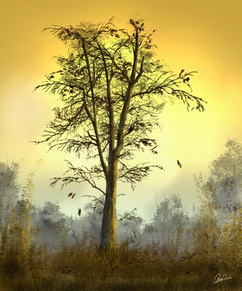 Herfstboom